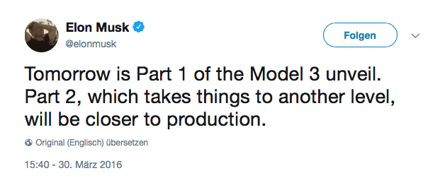 Elon Musk on Model 3