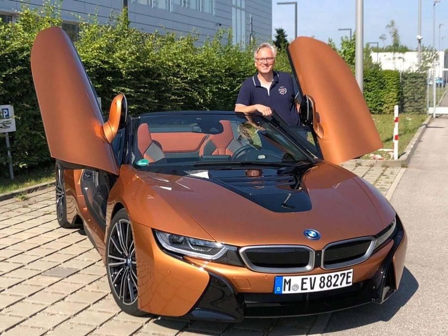 BMW i8 Roadster Dirk Kunde