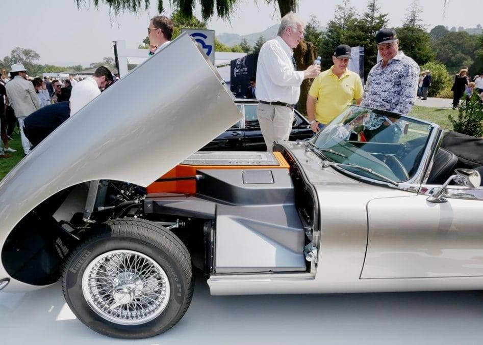 Jaguars E-Type wird elektrisch