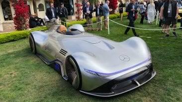 Supercar in Pebble Beach: Vision EQ Silver Arrow