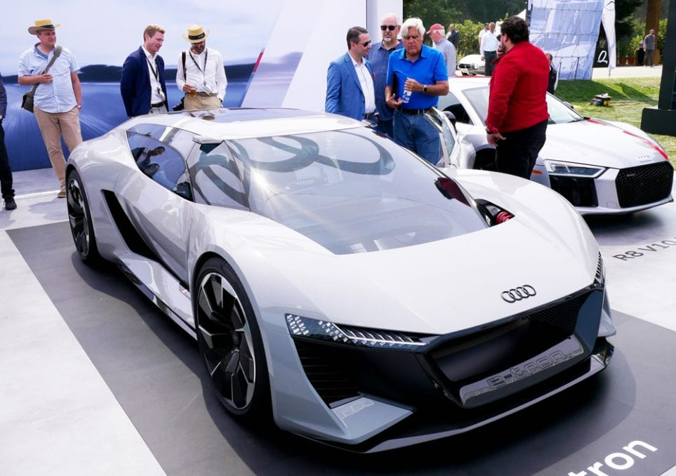 Jay Leno interessiert sich für den Audi PB 18