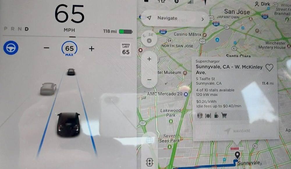 Autopilot im Tesla Model 3