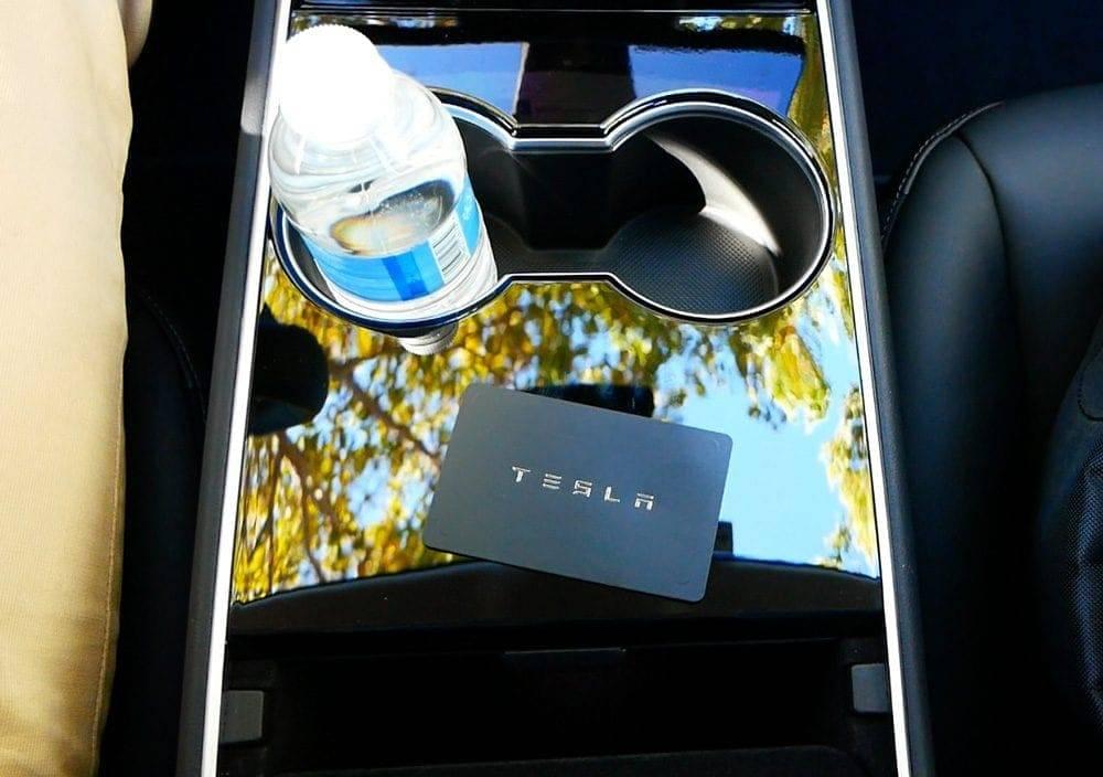 Model 3 Schlüsselkarte von Tesla