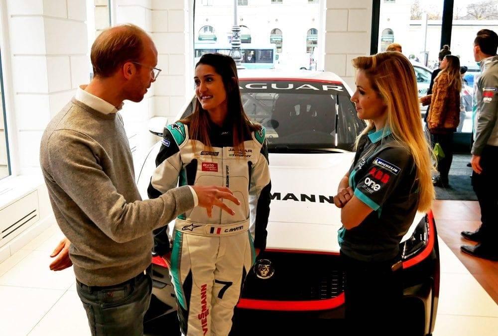 Max Viessmann, Célia Martin und Andrea Kaiser