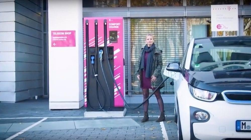 Telekom Schnellladesäule Get Charge