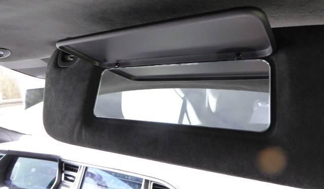 Tesla Model S Spiegel Sonnenblende