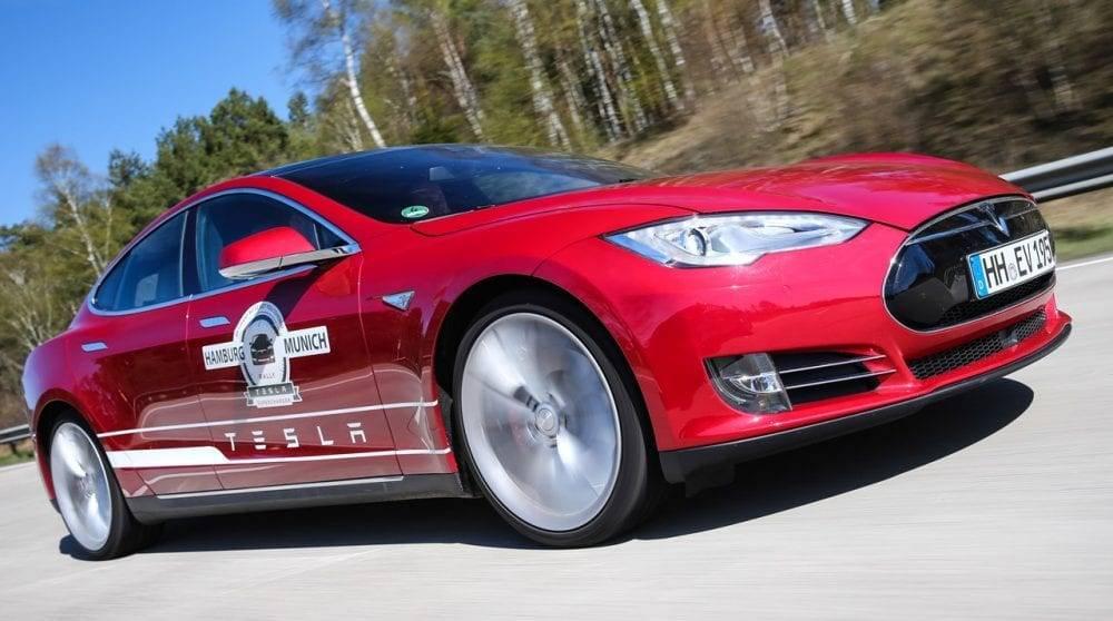 Tesla Supercharger Rallye 2015