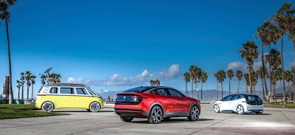 Volkswagen I.D. Elektroautos