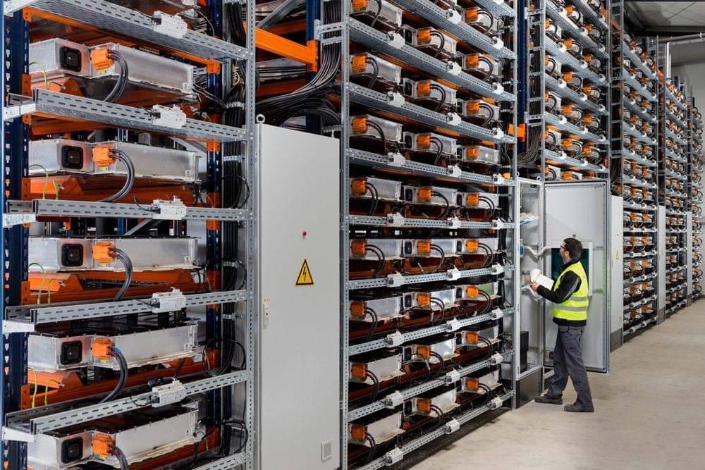 Batteriespeicher BMW in Leipzig