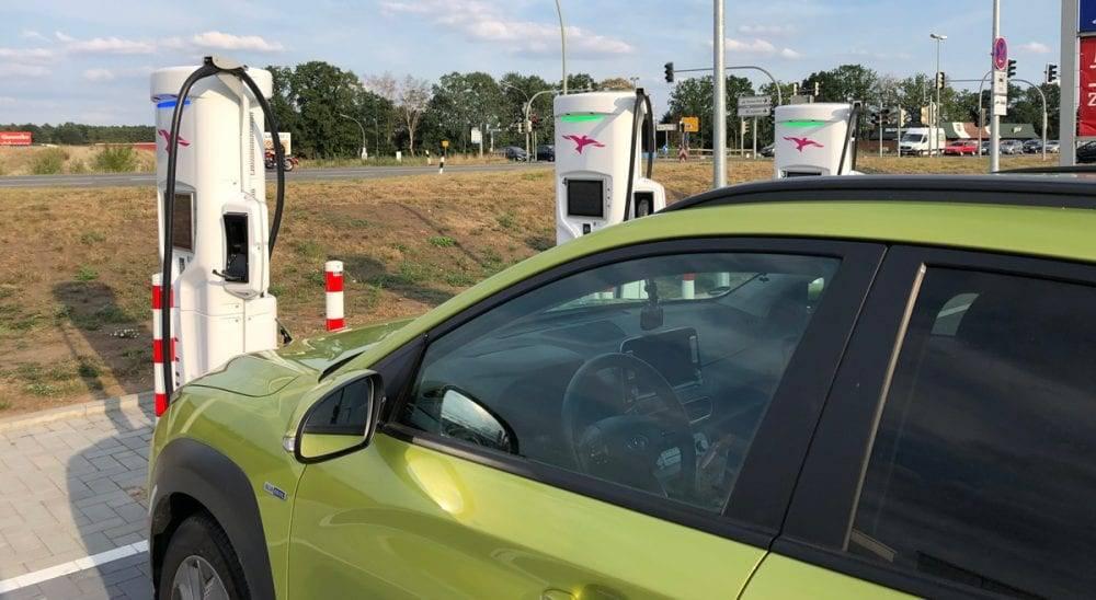 Ladesäulen für Elektroautos
