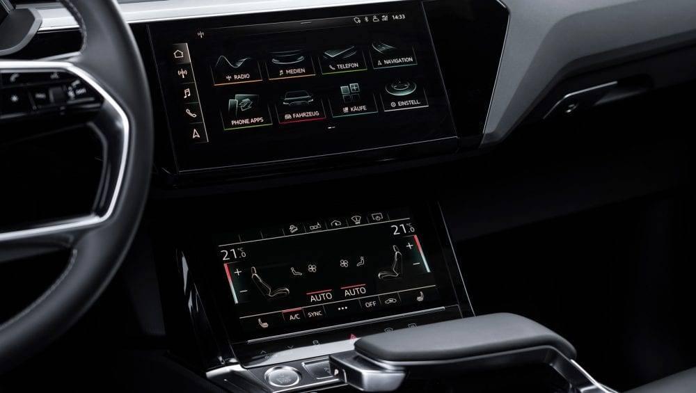 Audi e-tron Sportback Display