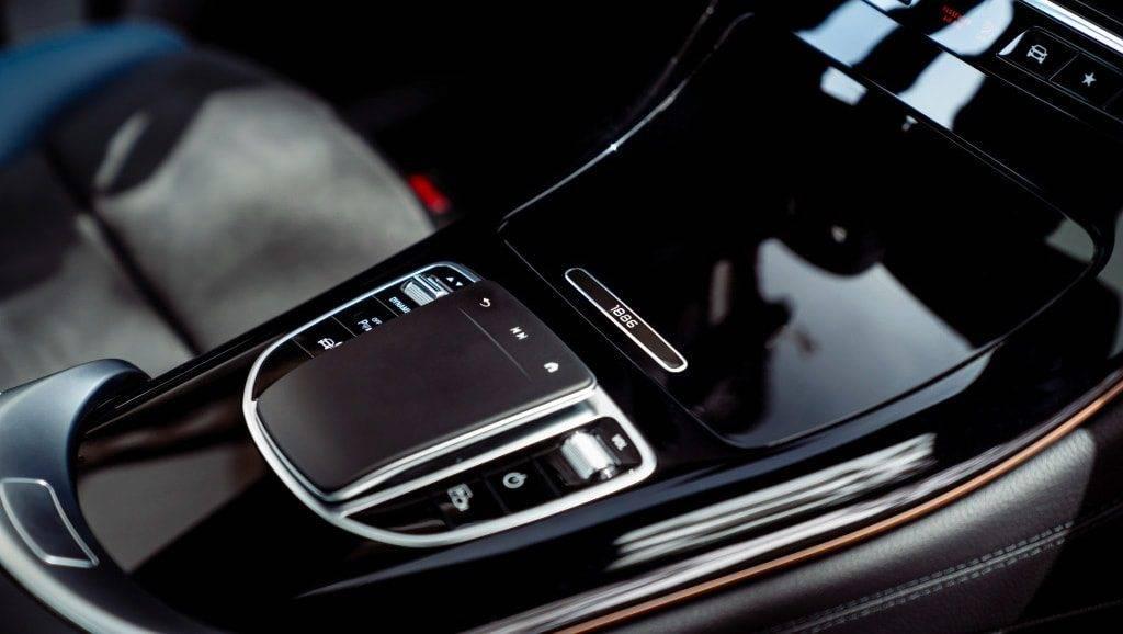 Mercedes-Benz EQC 400 Konsole