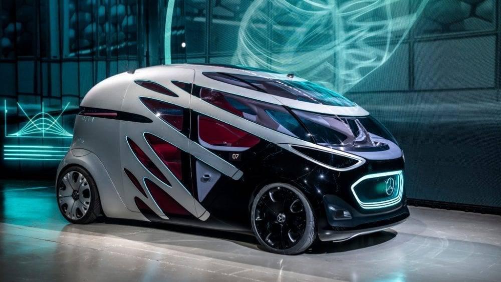 Mercedes-Benz Urbanetic autonomes Fahren