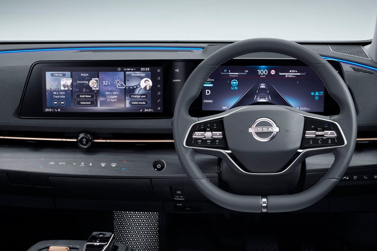 Nissan Ariya Lenkrad