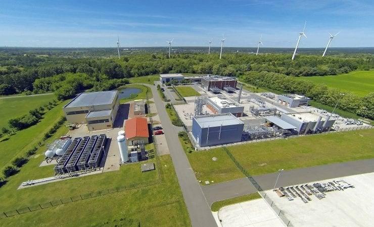 Wasserstoff Rüdersdorf Testanlage EWE