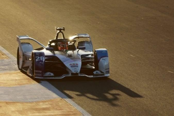 BMW i Rennwagen in der Formel E