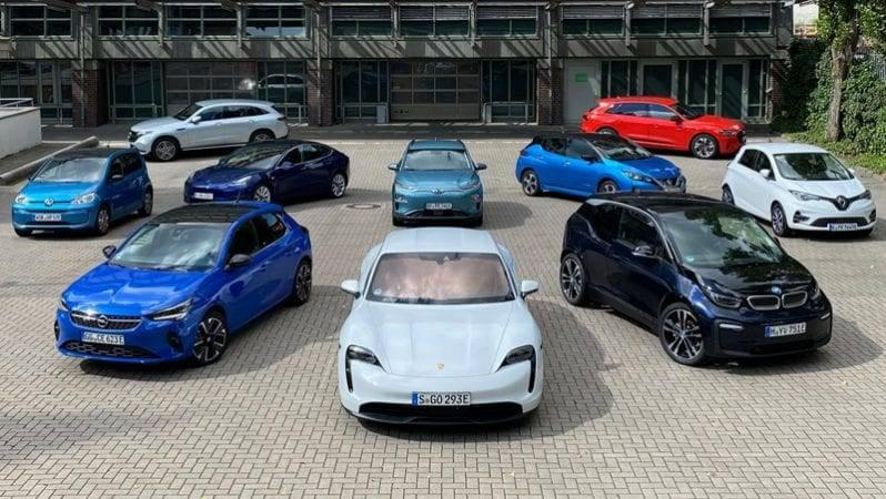 Auswahl an Elektroautos wächst
