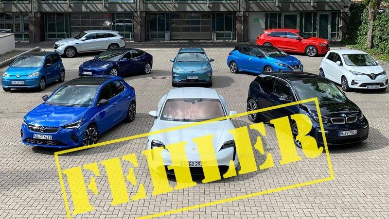 Elektroautos ein Fehler