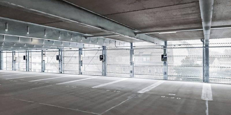 N-ERGIE Parkhaus Ladepunkte