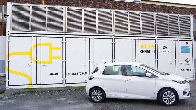 Batteriespeicher Renault