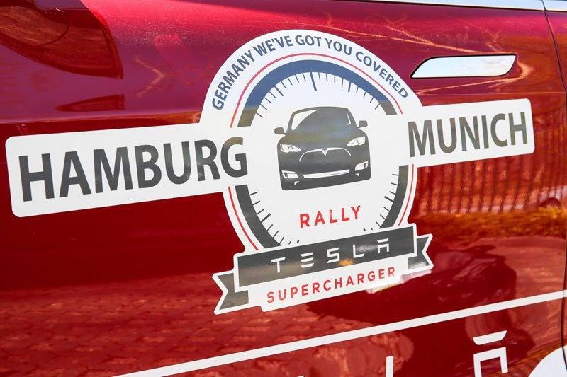 Tesla Supercharger Rallye